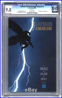 L7114 The Dark Knight Returns #1, 9.8 CGC, First Printing