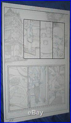 LEGENDS OF THE DARK KNIGHT #1 Batman Original Art Page ACE THE BAT-HOUND Story