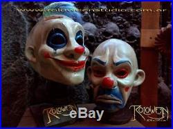 Latex Mask Batman The Dark Knight Joker Clown Bank Robber