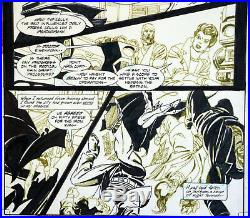 Legends Of The Dark Knight #25 Page 10 Pencils And Inks By The Great Gil Kane