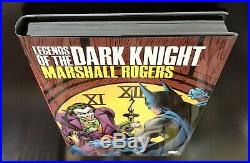 Legends Of The Dark Knight Marshall Rogers Hc Batman Signed By Englehart Wein +