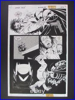 Legends of The Dark Knight #60 DC 1994 (Original Art) Page 23 by Eduardo Barreto