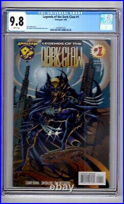 Legends of the Dark Claw #1 9.8 CGc WP' Dark Knight. Can it BE