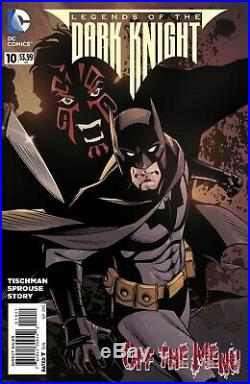 Legends of the Dark Knight #10, cover