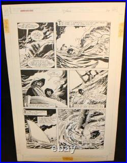 Legends of the Dark Knight #19 p. 20 LA Batman Rescue art by Trevor Von Eeden