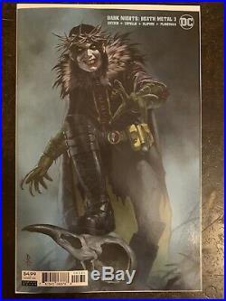 Legends of the Dark Knight #1 & 125 Variant & Death Metal #3 Federici Variant
