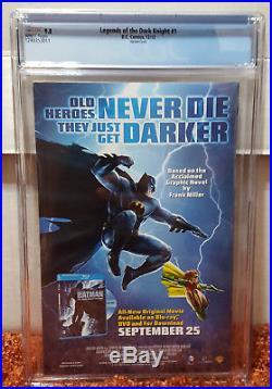 Legends of the Dark Knight #1 (2012 DC) CGC 9.8 NM/MT Platt Variant Batman Joker