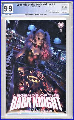 Legends of the Dark Knight #1 9.9! PGX Not(CGC) Warren Louw Harley Quinn