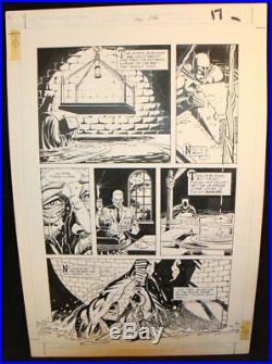 Legends of the Dark Knight #20 p. 17 Batman Sets His Trap'91 by Trevor Von Eeden
