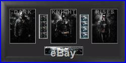 Limited Edition Batman The Dark Knight Rises Trio Filmcell Collectible