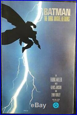 Lot Of 4 Batman The Dark Knight Returns Comics (dc, 1986) #1-4 Copper Age