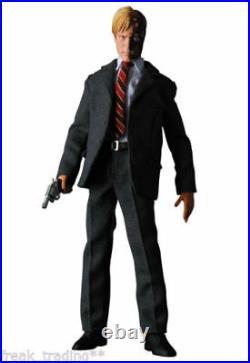 MIB! Medicom Toy RAH BATMAN THE DARK KNIGHT HARVEY DENT TWO-FACE Figure