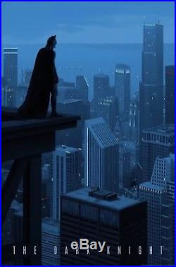 MONDOTEES The Dark Knight Poster by Rory Kurtz Batman SDCC 2017 Print! RARE