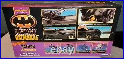 NEW SEALED Kenner The Dark Knight Collection Batmobile 1990