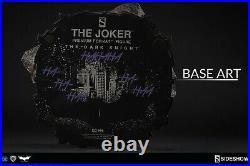 NEW SEALED The Joker Sideshow Premium Format EXCLUSIVE Figure Batman Dark Knight