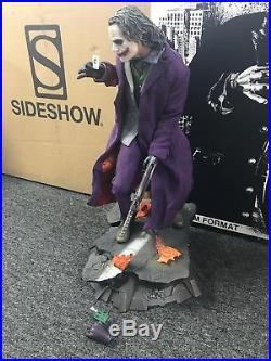 NEW Sideshow JOKER The Dark Knight Premium Format Exclusive Limited Statue