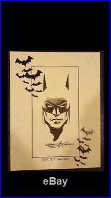 Neal Adams Batman Original Comic Art The Dark Knight