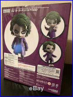 Nendoroid The Dark Knight The Joker Villian's Edition Figure Used AUTHENTIC