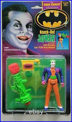 New Batman Dark Knight Collection Knock-out Joker 1990 Movie Action Figure! B15