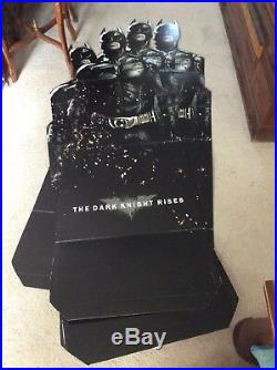 New The Dark Knight Rises Store Display Promo Cardboard Cut Out