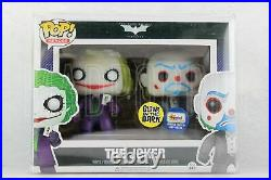 POP Dark Knight Trilogy The Joker & Bank Robber Gemini Glow in the Dark 2 Pack
