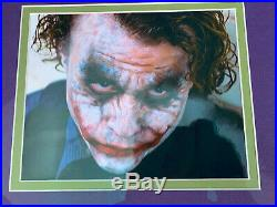 PSA DNA Heath Ledger Autograph THE DARK KNIGHT Joker Collectible Signature