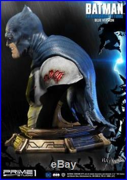 Premium Bust Batman Arkham City The Dark Knight Returns Blue Ver. Statue710