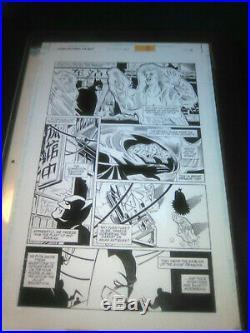Rick Burchett Batman Legends of the Dark Knight 121 Original Comic Art published