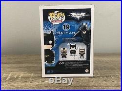 SDCC EXCLUSIVE FUNKO POP The Dark Knight Rises BATMAN PATINA! SUPER RARE NEW