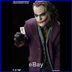 SIDESHOW The Dark Knight Joker Premium Format Figure Statue NEW