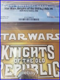 STAR WARS KNIGHTS OF THE OLD REPUBLIC 9 CGC 9.8 NM/MT Mint 1st Full Revan