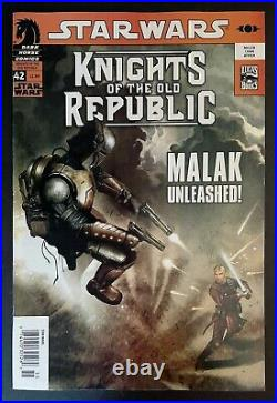 STAR WARS Knights of the Old Republic #42 Newsstand Malak Revan Dark Horse 2009