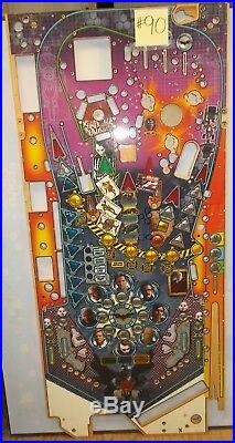 STERN BATMAN THE DARK KNIGHT Pinball Game Playfield Production Reject #90