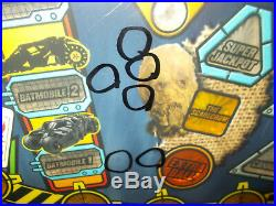 STERN BATMAN THE DARK KNIGHT Pinball Game Playfield Production Reject #90