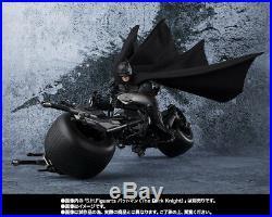 S. H. Figuarts The Dark Knight Batman Bat-Pod action figure Bandai Tamashii Japan