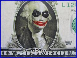San Diego Comicon Giveaway Heath Ledger The Dark Knight Joker Dollar Bill 2007