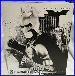 Sideshow 300229 Batman The Dark Knight Premium Format Statue Factory Sealed