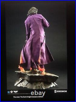 Sideshow Collectibles The Joker The Dark Knight Premium Format EX Sealed In Box