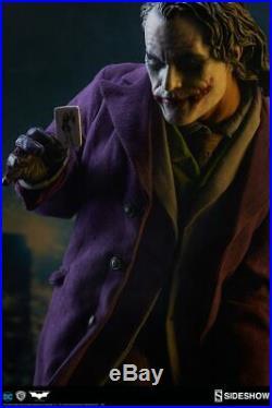 Sideshow DC Batman The Dark Knight The Joker Premium Format Figure Statue New