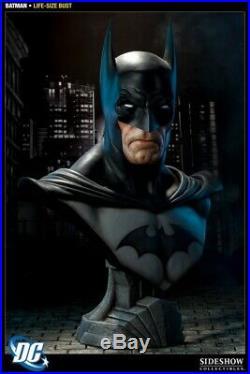 Sideshow DC Comics Batman Life Size Bust 29 The Dark Knight of Gotham City MIB