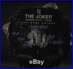 Sideshow JOKER The Dark Knight EXCLUSIVE Premium Format Open Box Complete