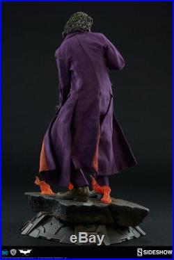 Sideshow Joker Batman The Dark Knight Premium Format Figure Statue Heath Ledger