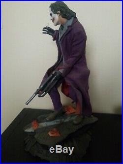 Sideshow Premium Format Figure THE JOKER The Dark Knight #165/3500