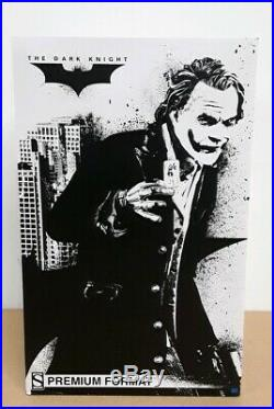 Sideshow Premium Format The Dark Knight The Joker Figure/Statue New in Box