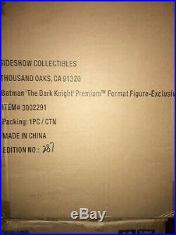 Sideshow The Dark Knight (Exclusive) premium format 1/4 scale statue #287