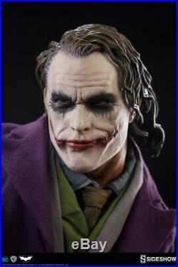 Sideshow The Dark Knight Joker Heath Ledger Premium Format Figure Exclusive #54