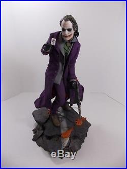 Sideshow The Dark Knight Premium Format The Joker Statue Heath Ledger 0126/3500