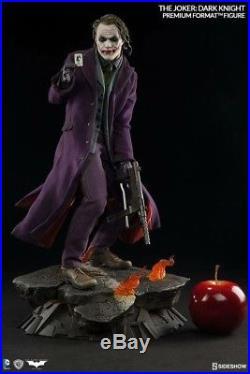 Sideshow The Dark Knight Premium Format The Joker Statue Heath Ledger