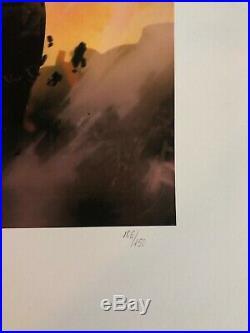 Sideshow The Dark Knight Returns Art Print Signed #106/150