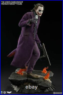 Sideshow The Dark Knight The Joker Premium Format Figure Statue Collectible New